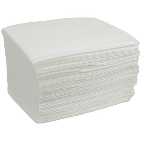 Cardinal Best Value Washcloth 11 X 13-1/2 Inch White Disposable - AT913
