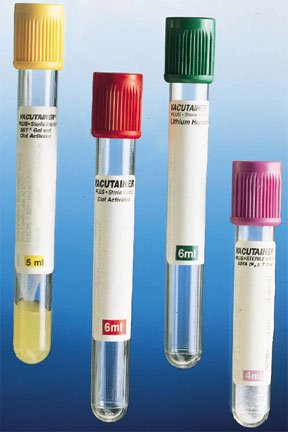 Fisher Scientific BD Vacutainer Plus Venous Blood Collection Tube Whole Blood Tube K2 EDTA Additive 13 X 75 mm 4 mL Lavender BD Hemogard Closure Plastic Tube - 0268399C