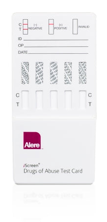 Alere Toxicology iScreen Drugs of Abuse Test 10-Drug Panel AMP, BAR, BZO, COC, mAMP/MET, MTD, OPI, PCP, TCA, THC Urine Sample CLIA Moderate Complexity 25 Tests - IS10