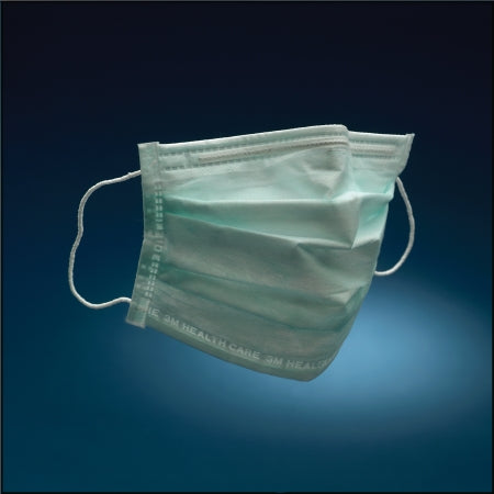 3M 1840 Pleated Earloop Procedure Mask - One Size - Box of 50 Masks