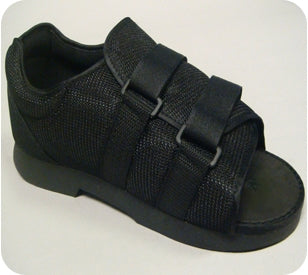Bird & Cronin Post-Op Shoe Large Black Male - 8143274
