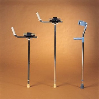 Sammons Preston 926908 Platform Forearm Crutch, Adult/Tall - 1 Each | Aluminum