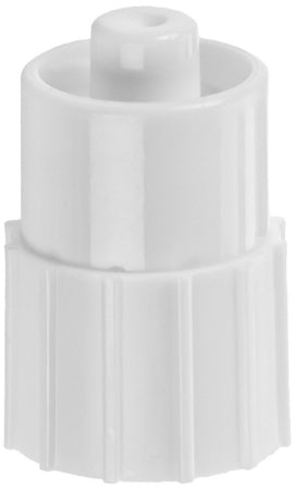 Becton Dickinson Luer Lok Cap Adapter Male Cap Connection, Latex Free, Sterile, Disposable - 408530