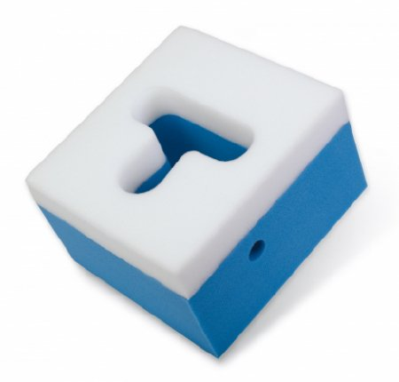 DJO Premium Prone Head Positioner 7 X 9-1/2 X 10-1/2 Inch Foam Freestanding - 79-90871