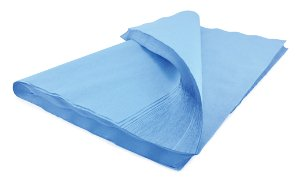 McKesson McKesson Sterilization Wrap Blue 20 X 20 Inch Single Layer Cellulose - 487