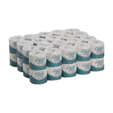 Georgia Pacific Angel Soft Professional Series Toilet Tissue White 2-Ply Standard Size Cored Roll 450 Sheets 4 X 4.05 Inch - 16880
