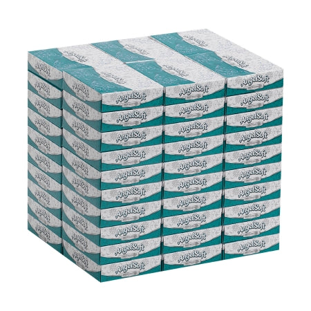 Georgia Pacific Angel Soft Professional Series Facial Tissue White 5-3/5 X 7-1/5 Inch - 48550