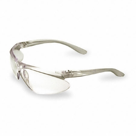 Grainger Uvex A400 Safety Glasses Wraparound Clear Tint Polycarbonate Lens Clear Frame Over Ear One Size Fits Most - 3TE11