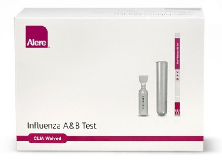 Alere Alere Control Swab Kit Influenza A & B Positive / Negative Level 20 Kits - 412080