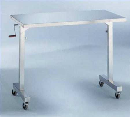 Blickman Instrument Table 36 X 20 X 36 to 56 Inch 304 Stainless Steel - 157892000