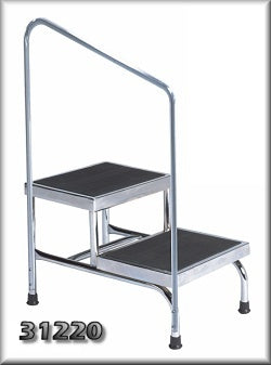 The Brewer Company Handrail Only for 31220 Double Step Stool - 50016-1