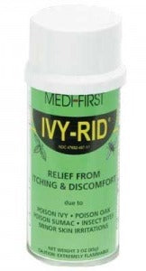 Medique Products Ivy-Rid Itch Relief 5% Strength Spray 3 oz. Can - 48717