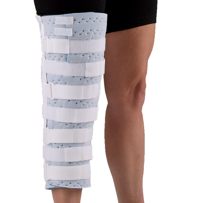 DeRoyal Cutaway Knee Immobilizer With Quick Fit Tabs