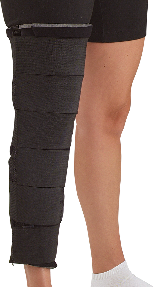 Knee Immobilizer with Elastic Straps