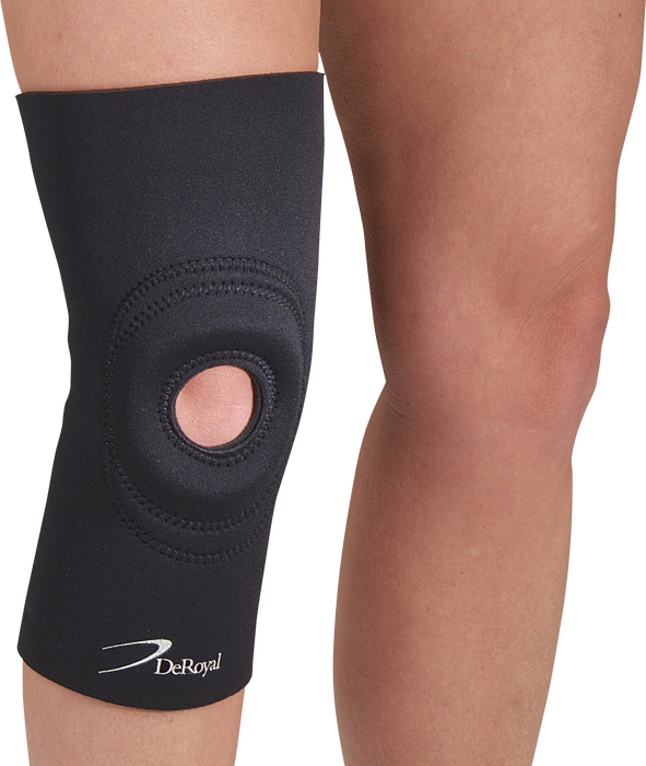 Knee Support With Trimmable