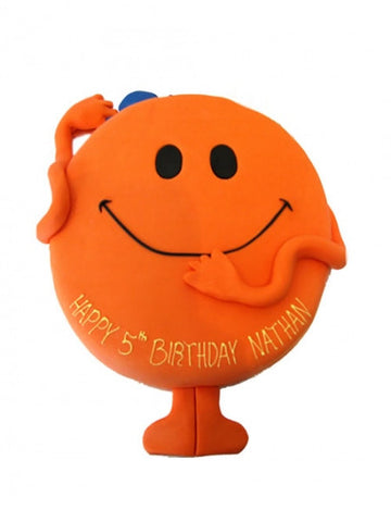 Mr Tickle Shaped Birthday Cake