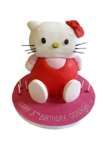Hello Kitty Upright Birthday Cake