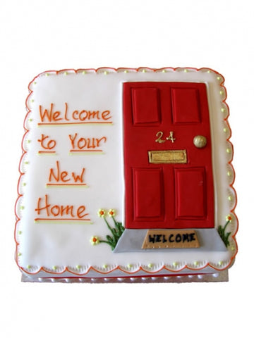 New Home Welcome Cake