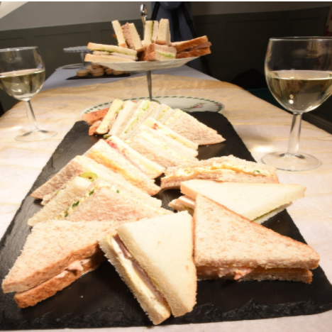 Classic Sandwich Platters - Seafood Selection