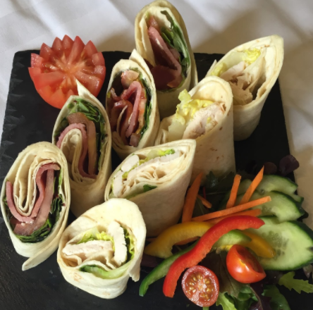 Meat free Wraps