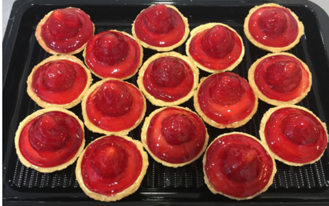 Fresh Strawberry Tartlet Platter
