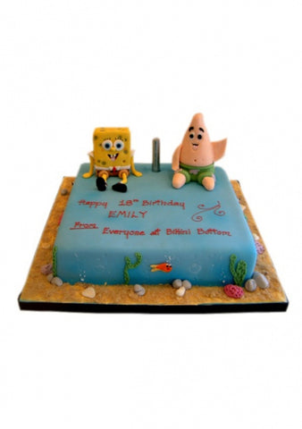 Sponge Bob Square Pants Birthday Cake