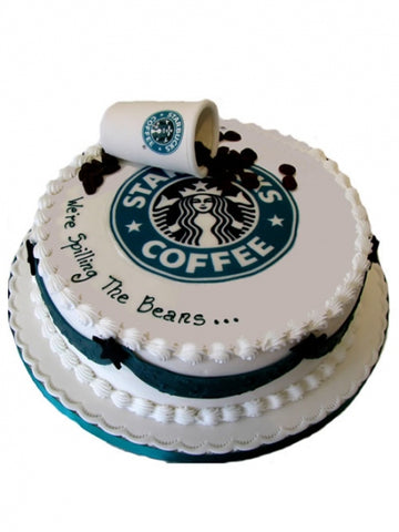 Starbucks Coffee Corporate Cake