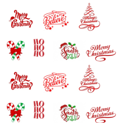 Christmas Decals