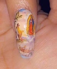 Virgen Mary Nail Wraps