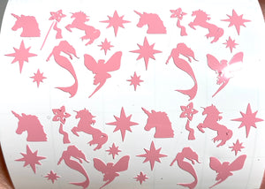 Pink Fantast Decals