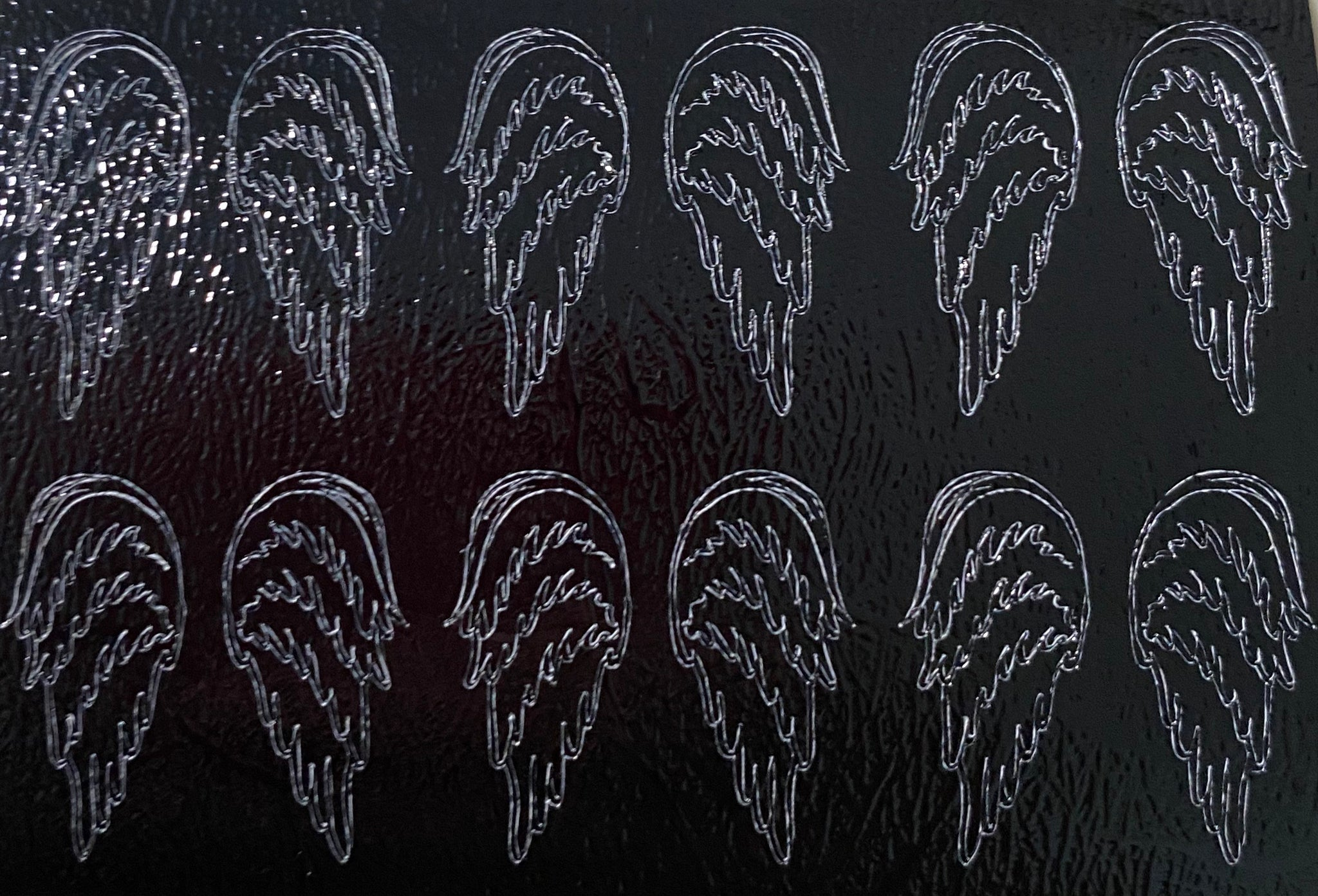 Angel Wings Black