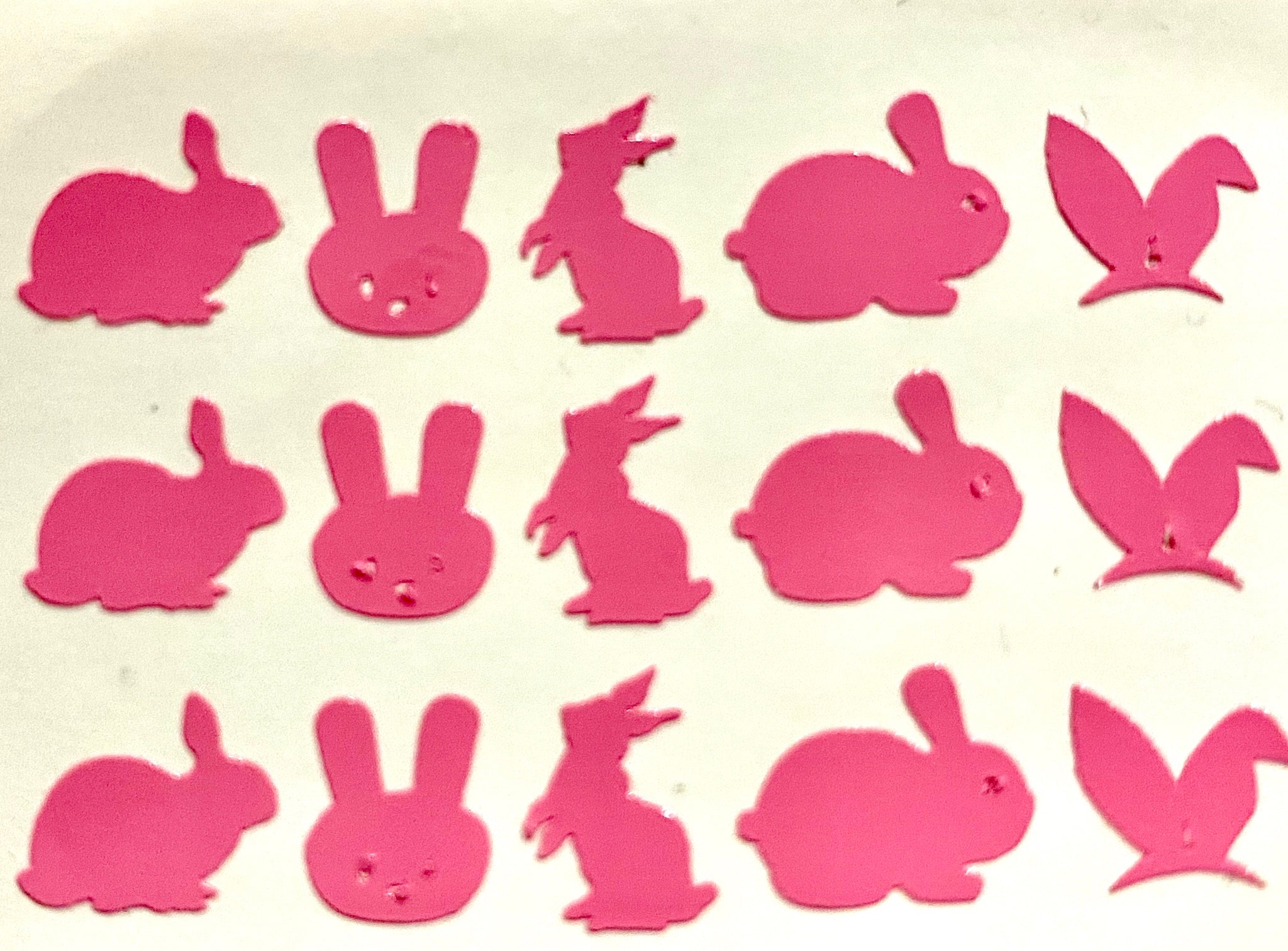 Pink Bunnies Decals
