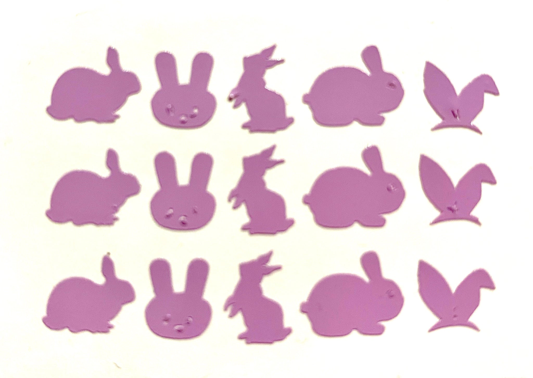 Purple Bunnies