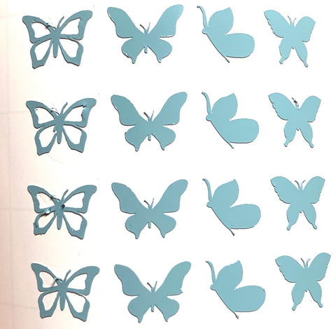 Baby Blue Mini Butterflies