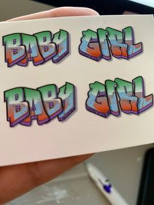 Baby Girl Graffiti #2