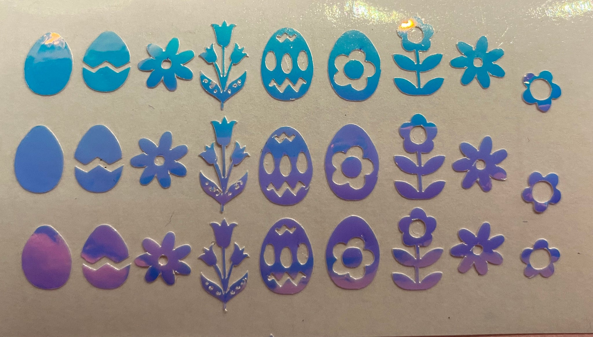 Opal Easter Decals