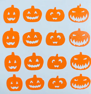 Halloween Pumpkins Orange