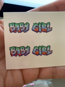 Baby Girl Graffiti
