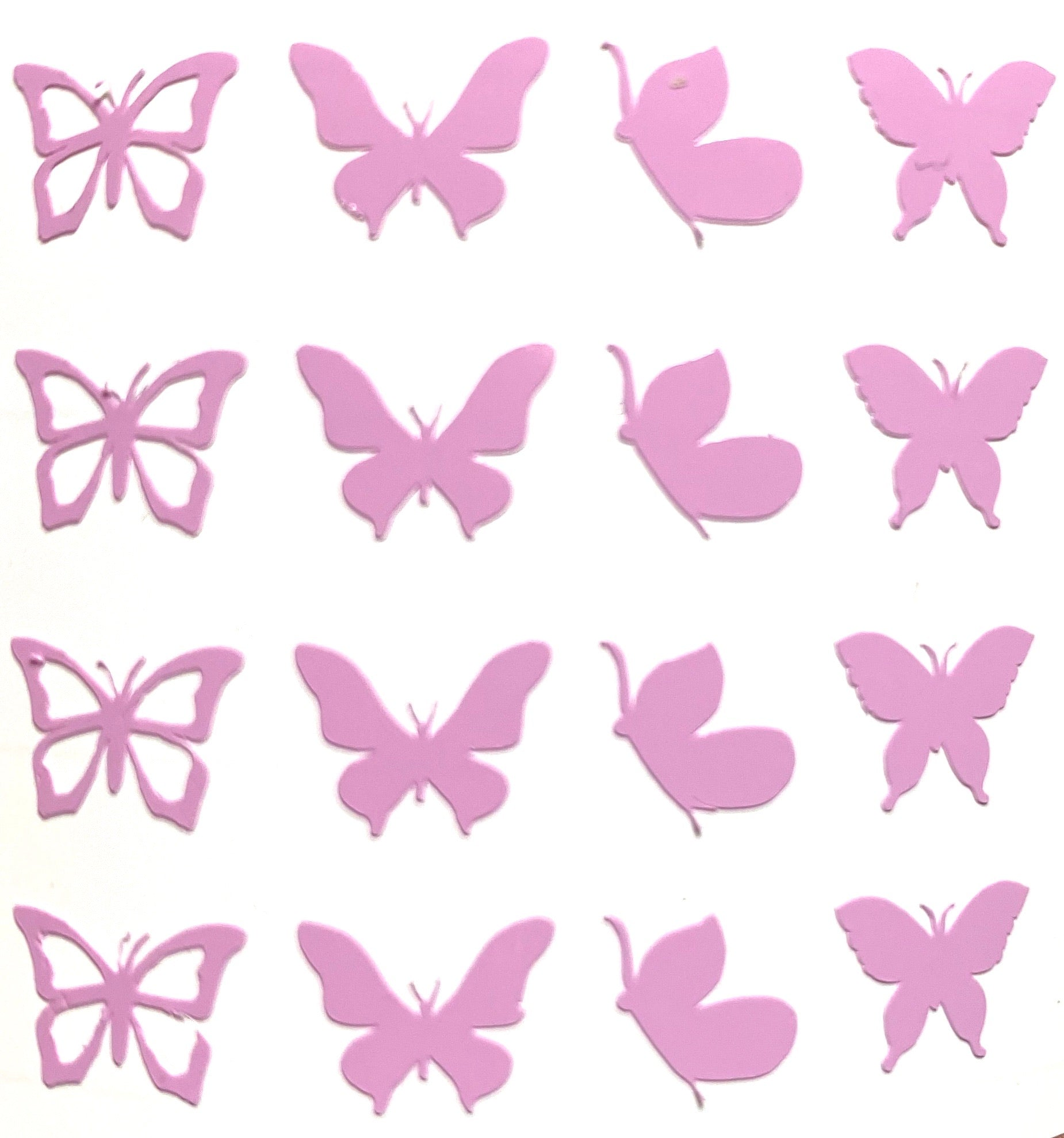 Purple Mini Butterflies