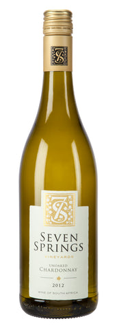 Seven Springs Unoaked Chardonnay 2015