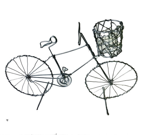 Bicycle - Large Wire with basket 30 cm