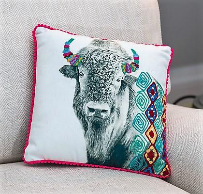 Buffalo Cushion