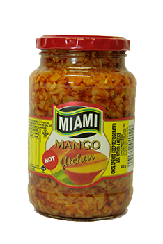Miami Mango Atchar Hot 400g