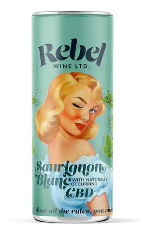 Rebel Wine Sauvignon Blanc 200ml can