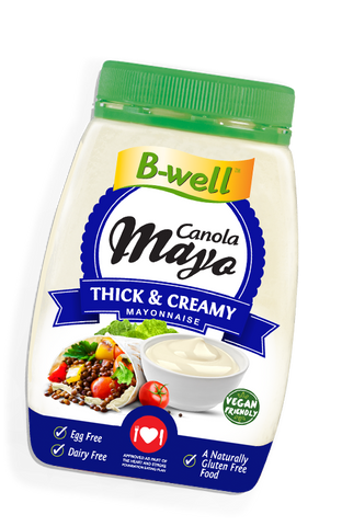 B-well Canola Mayo Thick & Creamy Mayonnaise 750g