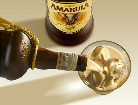 Amarula bottle & glass set
