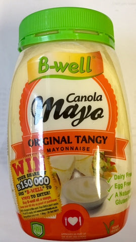 B-well Canola Mayo Original Tangy Mayonnaise 750g