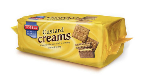 Lobels Custard Creams 150g