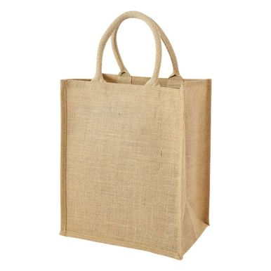 6 bottle Jute bag with dividers