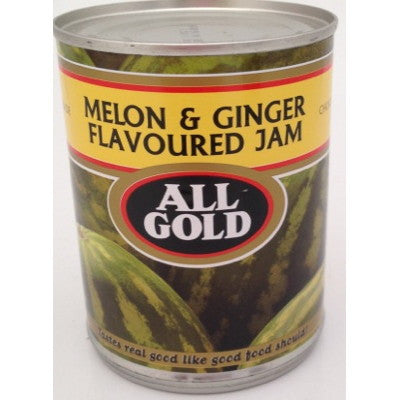 All Gold Melon & Ginger Jam